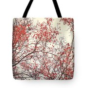 canopy trees II Tote Bag by Priska Wettstein