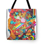 Can't Even Tote Bag by Chelsea Geldean