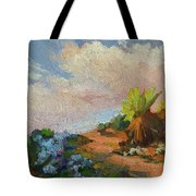 Canterbury Bells Joshua Tree Tote Bag