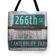 Canterbury Ice Tote Bag