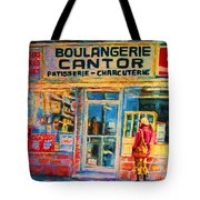 Cantors Bakery Tote Bag