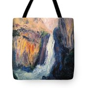 Canyon Blues Tote Bag