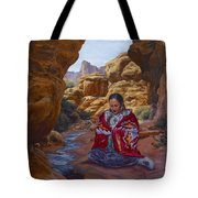Canyon Cathedral Tote Bag
