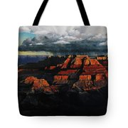 Canyon Colors Tote Bag