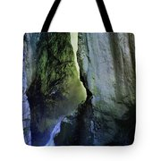Canyon Creek Narrows And Spills Thousands Of Gallons A Minute  Tote Bag