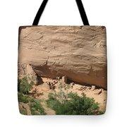 Canyon De Chelly Ruins Tote Bag