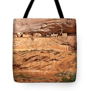 Canyon Dechelly Pueblo Ruins Tote Bag