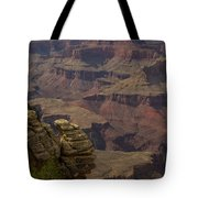 Canyon Jenga Tote Bag
