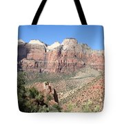 Canyon Overview Zion Park Tote Bag