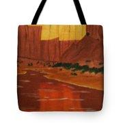 Canyon Reflection Tote Bag