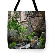 Canyon Serenity - Crazy Woman Creek - Crazy Woman Canyon - Johnson County - Wyoming Tote Bag