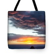 Canyon Sunset Tote Bag by Dave Bowman