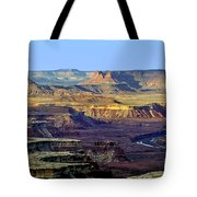 Canyonlands View From Green River Overlook Tote Bag