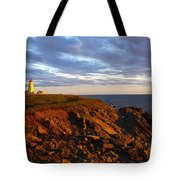 Cape Anguille Lighthouse Tote Bag