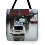 Cape Ann Red Fishing Shack Tote Bag