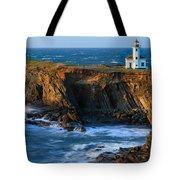 Cape Arago Lighthouse Tote Bag