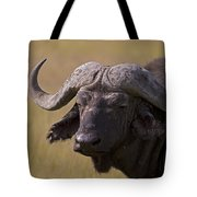 Cape Buffalo   #0607 Tote Bag