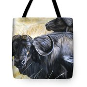 Da206 Cape Buffalo By Daniel Adams Tote Bag