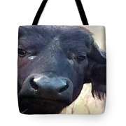 Cape Buffalo Up Close And Personal Tote Bag