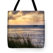 Cape Cod Bay Square Tote Bag