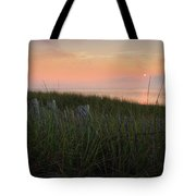 Cape Cod Bay Sunset Tote Bag