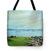 Cape Cod  Boats Tote Bag