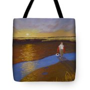 Cape Cod Clamming Tote Bag