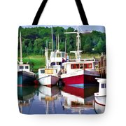 Cape Cod Harbor  Tote Bag
