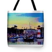 Cape Cod Harbor Tote Bag