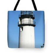 Cape Cod Highland Lighthouse Tote Bag by Michelle Wiarda