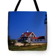 Cape Cod Or Highland Lighthouse Tote Bag
