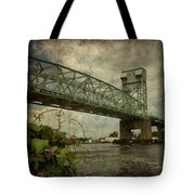 Cape Fear Morning Glory Tote Bag