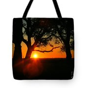 Cape Fear Sunset Tote Bag