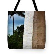 cape Florida light door Tote Bag