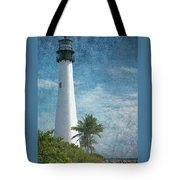 Cape Florida Lighthouse 2 Tote Bag