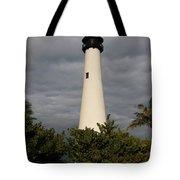Cape Florida Lighthouse Tote Bag