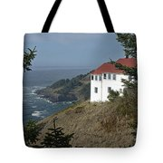 Cape Foulweather Lookout Tote Bag