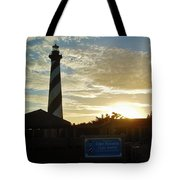 Cape Hatteras Lighthouse 1 11/05 Tote Bag