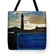Cape Hatteras Lighthouse 2 11/05 Tote Bag