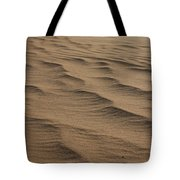 Cape Hatteras Ripples In The Sand-north Carolina Tote Bag
