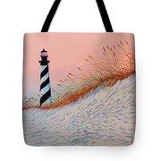 Cape Hatteras Sunrise Tote Bag
