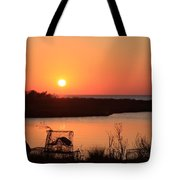 Cape Hatteras Sunset-north Carolina Tote Bag