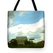Cape House Tote Bag