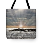 Cape May After The Storm Tote Bag