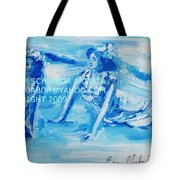 Cape May Bathing Beauty Tote Bag