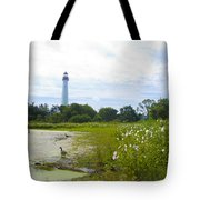 Cape May Lighthouse - New Jersey Tote Bag