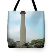 Cape May Lighthouse One Tote Bag