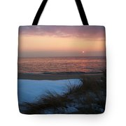 Cape May Twilight In February Tote Bag
