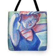 Cape May1920s Bathing Beauty Tote Bag