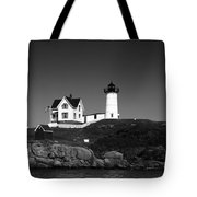 Cape Neddick Light Station Tote Bag